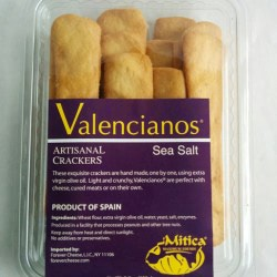 Valencianos® Crackers – Sea Salt