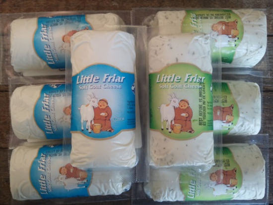 little friar goat logs
